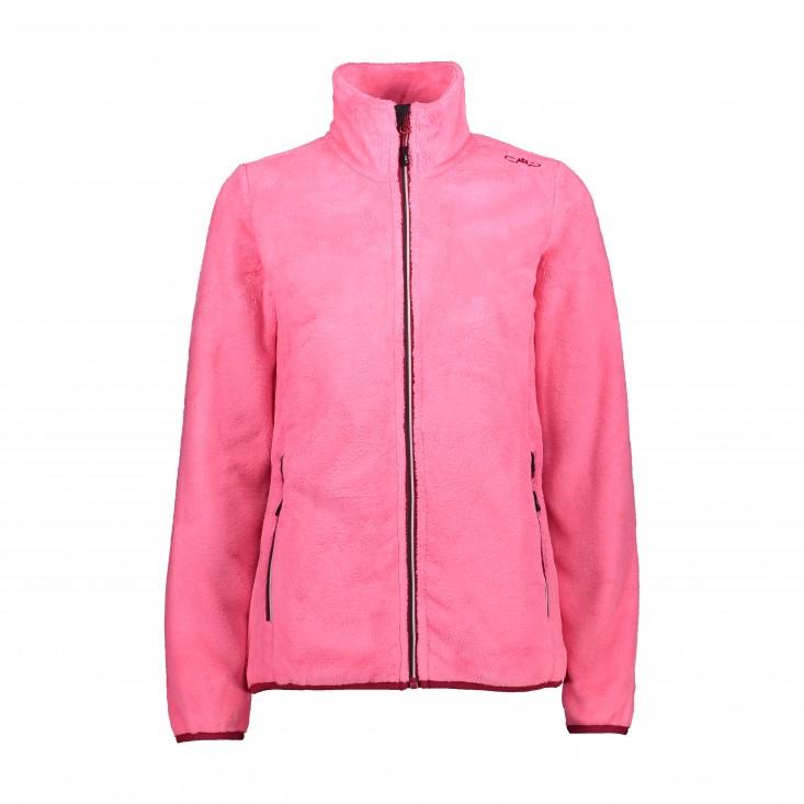 Woman Jacket Secondo Strato Fuxia
