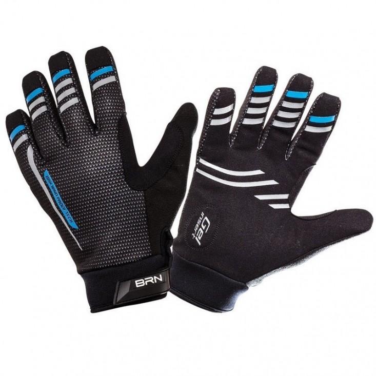Guanti BRN Winter Pro Black Blue