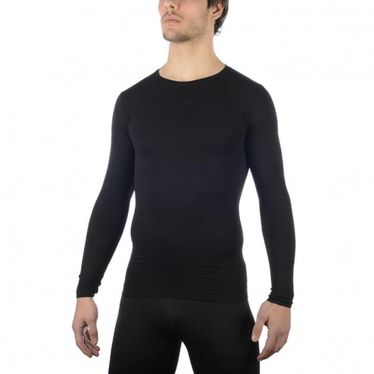 Maglia G/C Primo Strato M/L Uomo Extra Dry Skintech Black