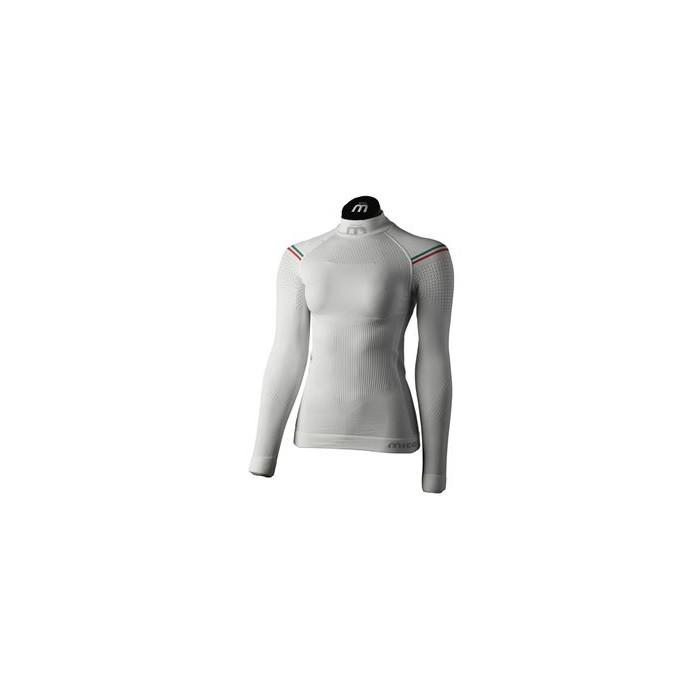 Maglia Lupetto M/L Primo Strato Woman M1 Skintec White