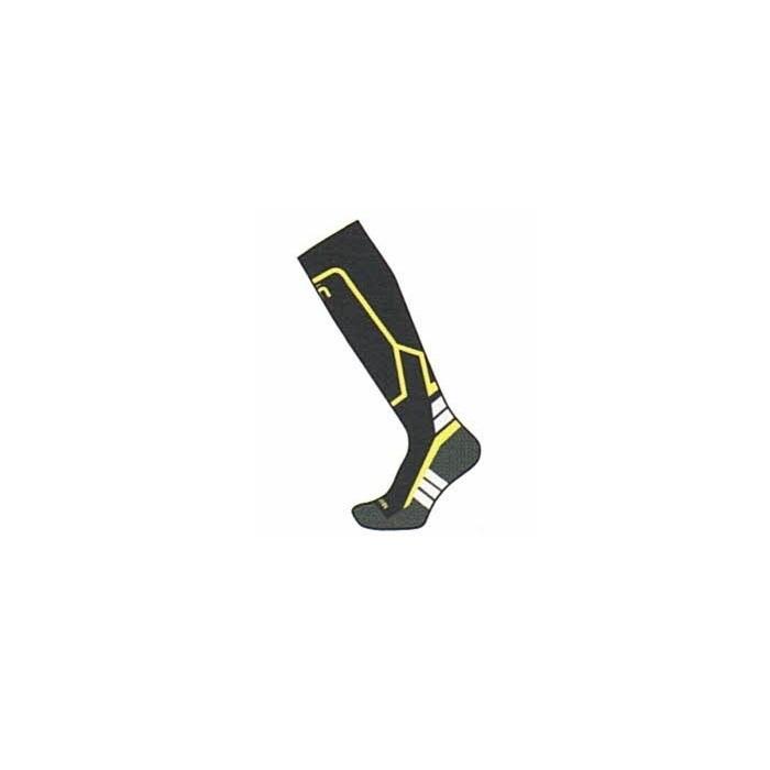 Calza Ski Kids Warm Control Medium Weight Unisex Black