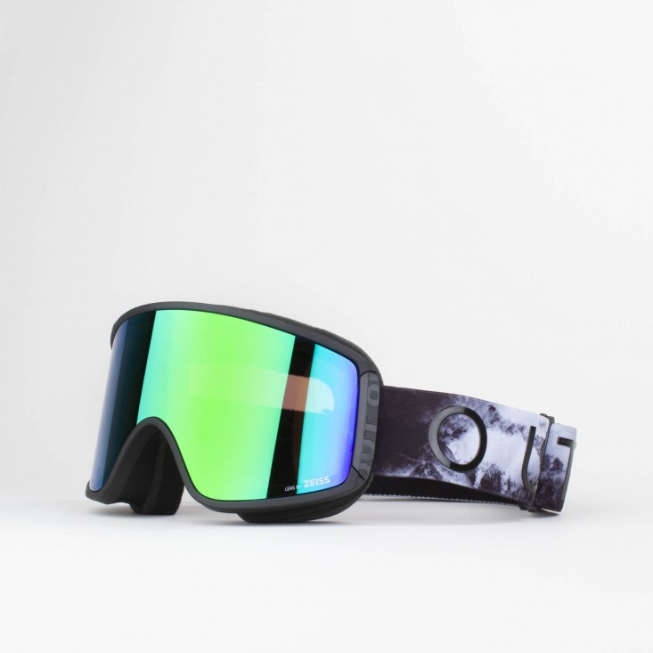 Shift Tempesta Green MCI Maschera Snowboard + Lente Permission