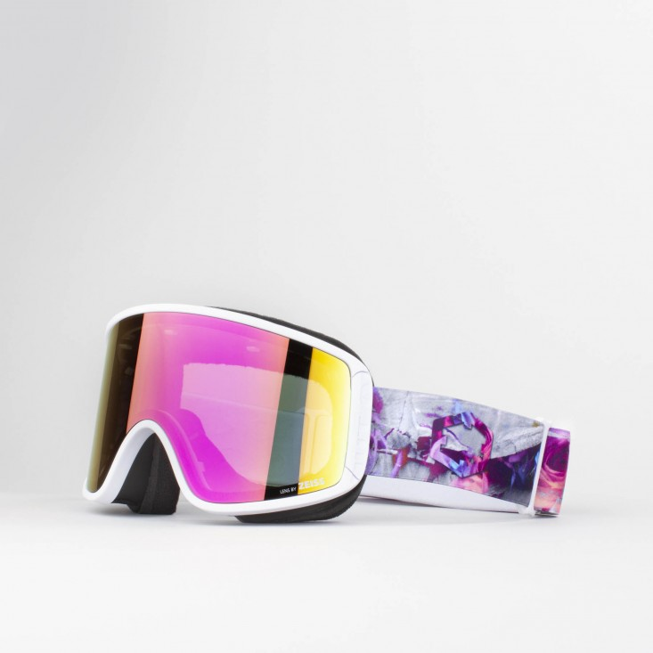 Shift Rock n Roses Violet MCI Maschera Snowboard + Lente Permission