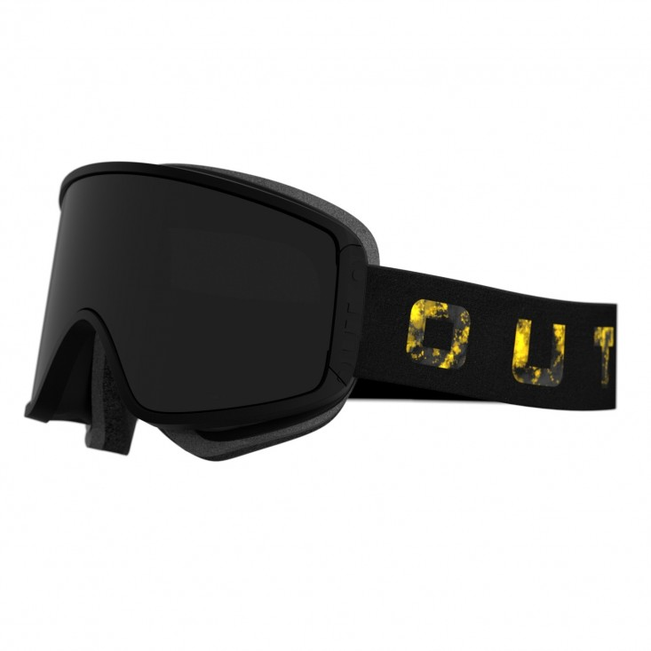 Shift Goldburst Smoke Maschera Snowboard + Lente Permission