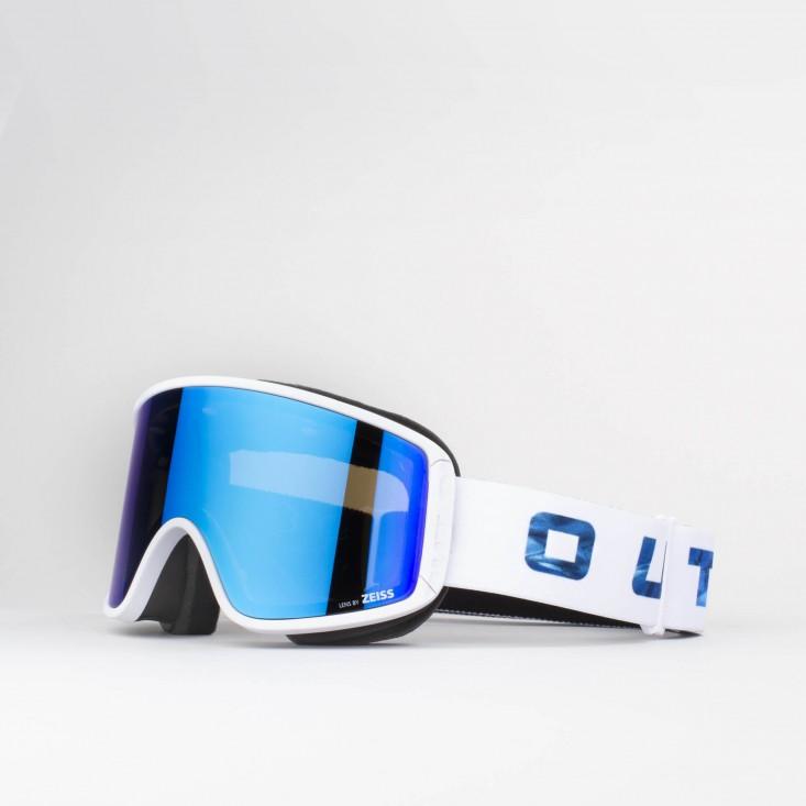 Shift Glacier Blue MCI Maschera Snowboard + Lente Permission