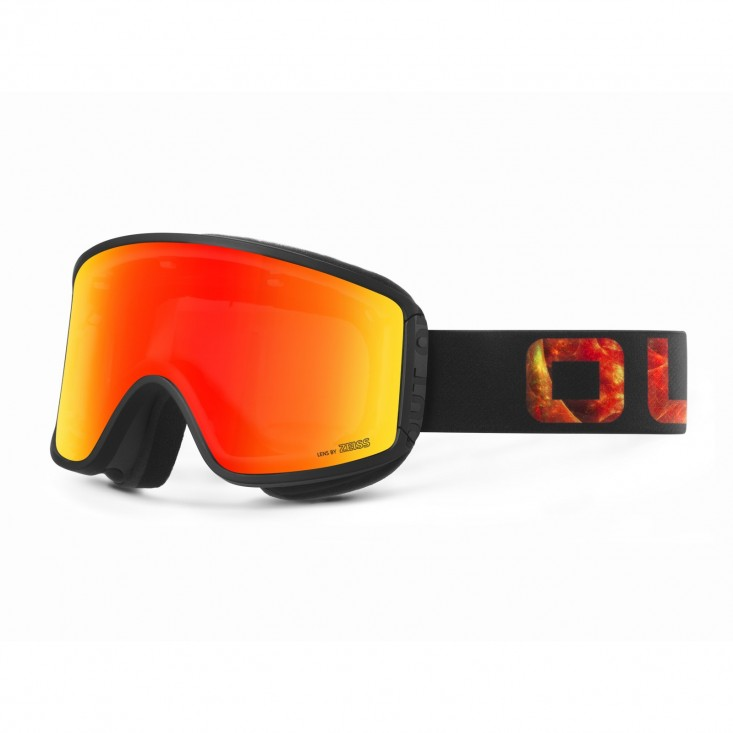 Shift Vulcano Red MCI Maschera Snowboard + Lente Permission