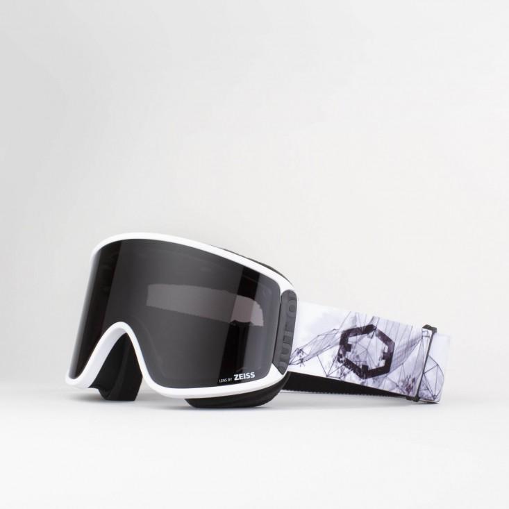 Shift Homespot Smoke Maschera Snowboard + Lente Permission
