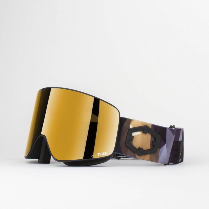 Void Origami Gold24 MCI Maschera Snowboard