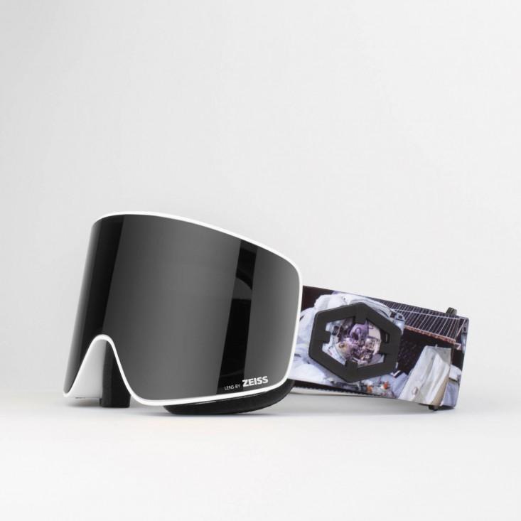 Void Astronaut Smoke Maschera Snowboard