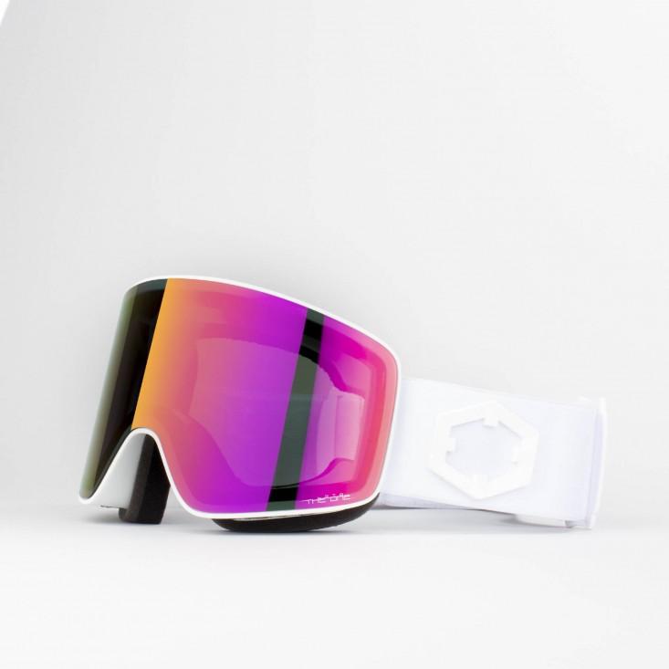 Void White The One Loto Maschera Snowboard