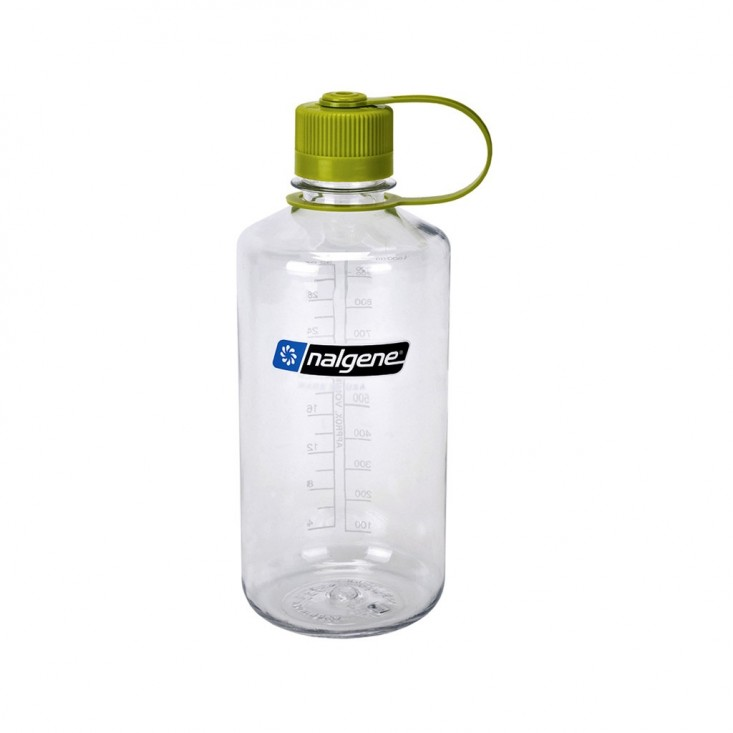 Nalgene Bottiglia Grande Apertura 1L Clear Green