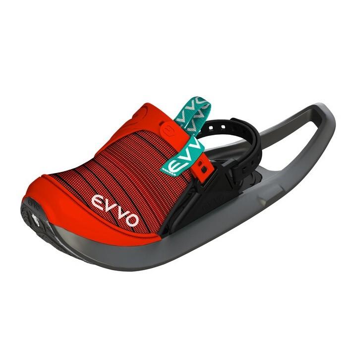 EVVO Snowshoes Ciaspole Suola Michelin Black