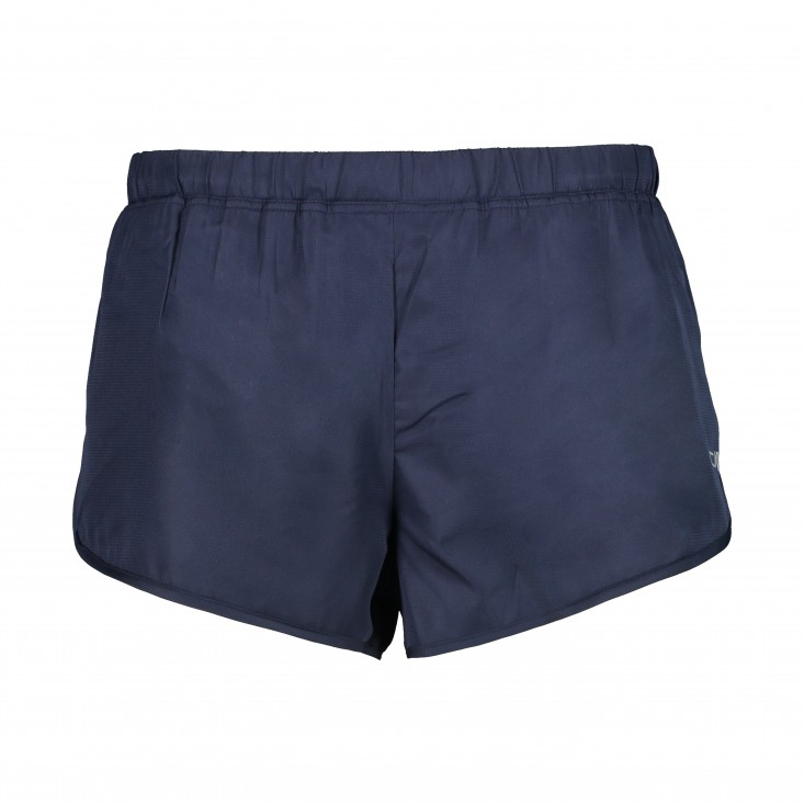 Man Short With Inner Mesh Pantaloncino Running Blu