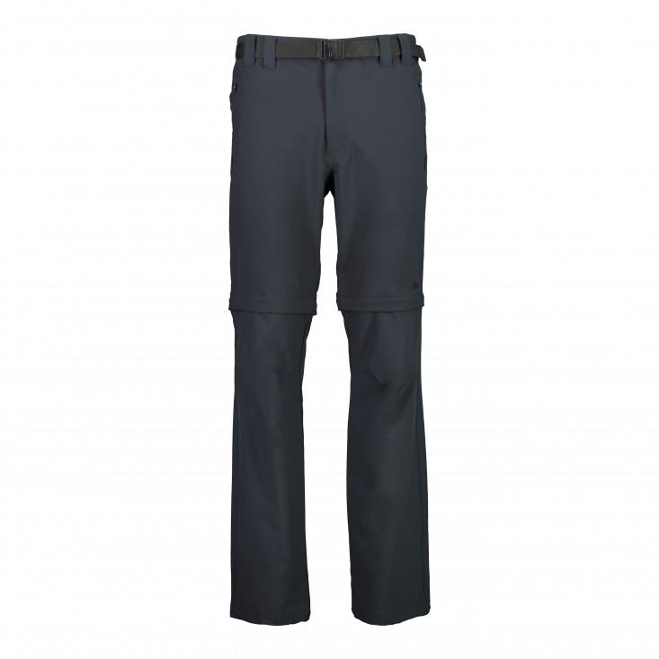Man Zip Off Pant Pantalone Uomo Grey
