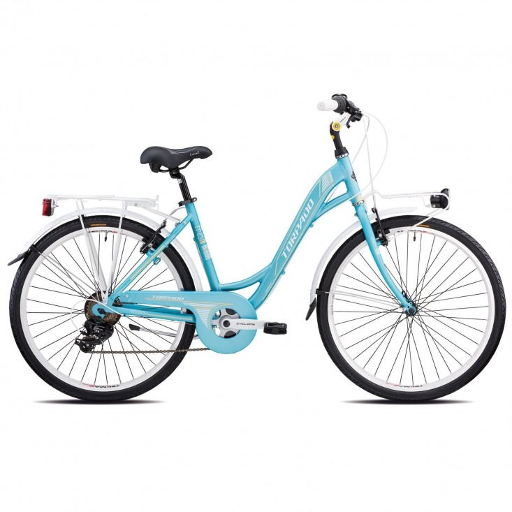 Torpado Freedom T461 Azzurro 7V Bicicletta donna Estate 2021 ! Mancini Store