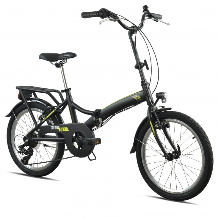 "Torpado Ciclo T2750 Pieghevole 20"" Bicicletta Black | Mancini Store"