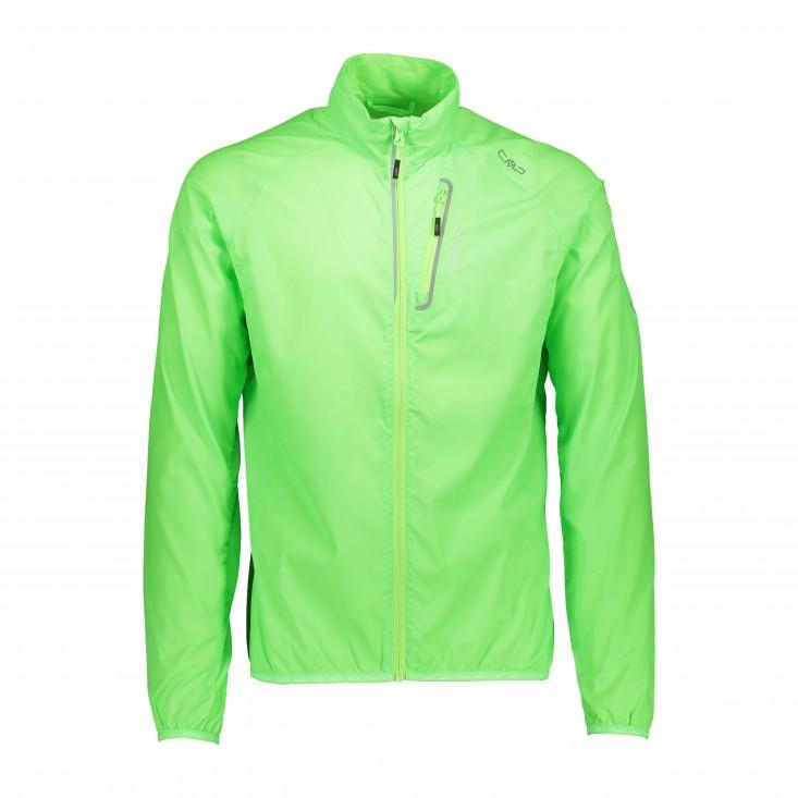 Man Jacket Giacca Bike Uomo Green