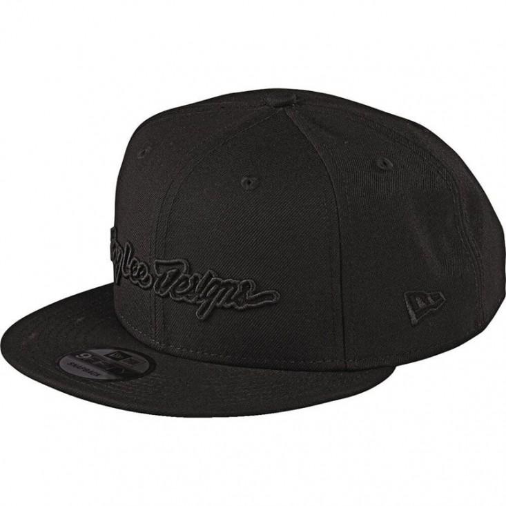 Signature Snapback Cappello Black