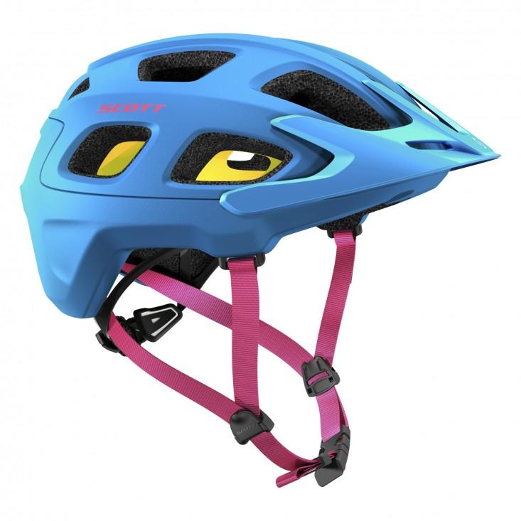 Scott Vivo Plus | casco mountain bike e trail biking - blue flash - destra | Mancini Store