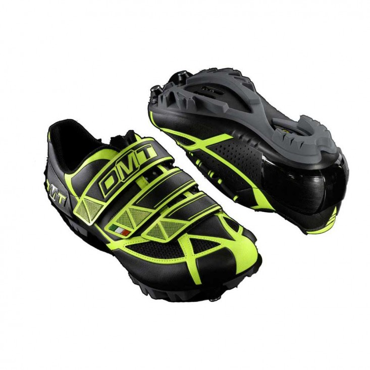 Dmt Robur Black Yellow - scarpe MTB | Mancini Store