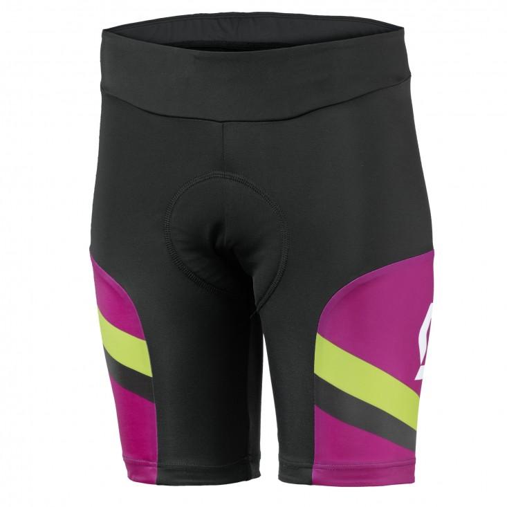 SCOTT Short Ws Endurance - pantaloncini ciclismo donna neri/viola | Mancini Store