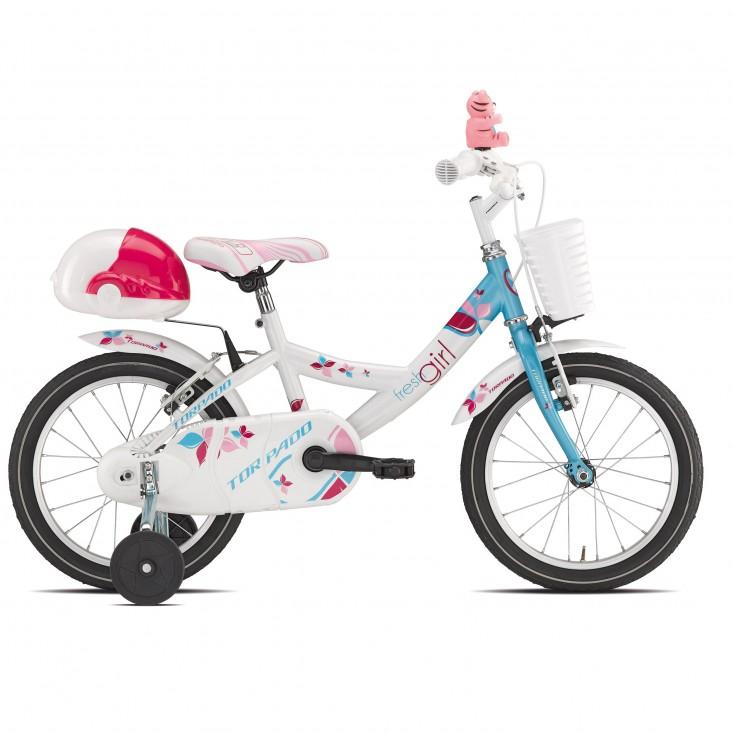 Torpado Trilly T671 Jr 16 Bicicletta bambino blu/bianca   Mancini Store
