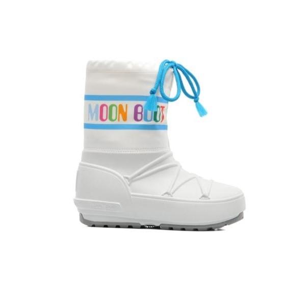 Doposci Moon Boot Pod Multicolor Bambino Bianco su Mancini Store