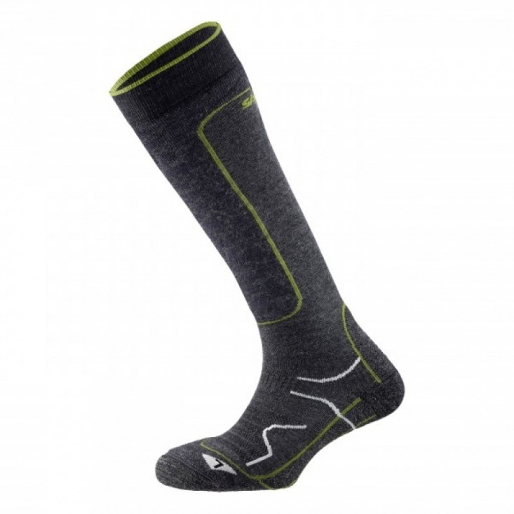 Calze sci snowboard montagna Salewa Ski Warm Wool Socks Anthracite da Mancini Store