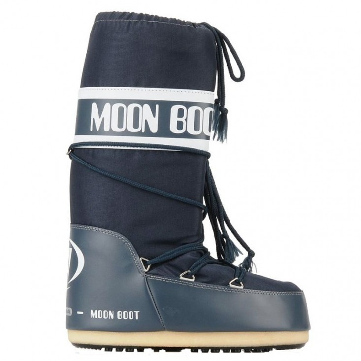 Moon Boot Nylon Donna Blue Jeans misura 42-44 / 45-47  da Mancini Store