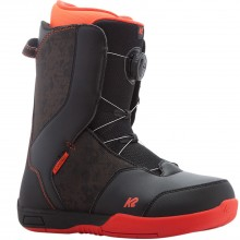 K2 Vandal - scarponi snowboard bambino - nero/rosso | Mancini Store