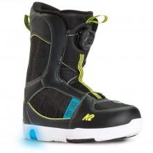 k2 Mini Turbo - scarponi snowboard bambino - neri | Mancini Store