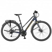 Scott Silence 30 Lady S - city bike donna -blu-gialla   Mancini Store