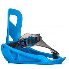 K2 Mini Turbo blue - attacchi snowboard bambino | Mancini Store