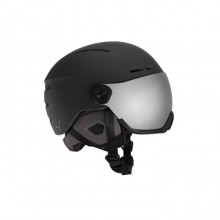 Fireball Black Silver Flash Mirror CAT.2 Casco Visiera Sci
