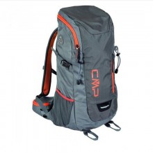 Hayabusa 30 BackPack Grey Orange Zaino