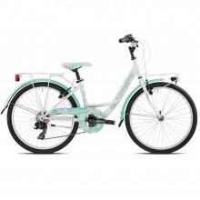 Torpado Kally biciper bambini 24' 6 velocità - verde | Mancini Store