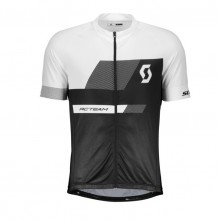 Scott Shirt RC Team 10 maglia ciclismo nera/bianca | Mancini Store