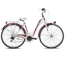 Torpado T436 Partner - city bike - 21V rossa | Mancini Store