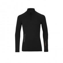 Ortovox 230 Competition Zip Neck Black Raven - maglia intima uomo | Mancini Store
