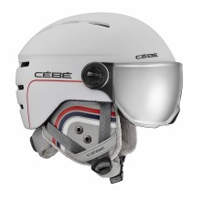 Fireball Junior White Patriot Casco Visiera Bambino