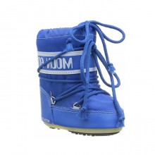 Moon Boot Mini Nylon Azzurro