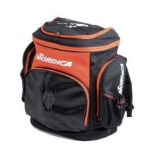 Nordica Race XL Junior Gear Pack Dobermann nero/rosso - zaino porta scarponi | Mancini Store