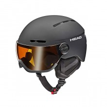 Knight Casco Sci Adulto Black