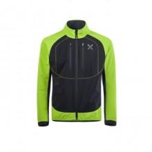Free Tech Jacket Secondo Strato Uomo Verde Nero