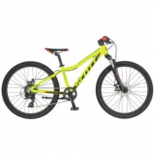 Scott Scale 24 Disc Yellow Black - bici MTB bambino 2019 | Mancini Store