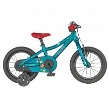 Scott Contessa 14 Aqua - bici MTB bambino 2019 | Mancini Store