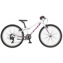 Scott Contessa 24 Rigid Fork White Purple Bicicletta MTB Bambina 2019