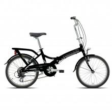 Torpado T170 Cayman nera - bici pieghevole alluminio | Mancini Store