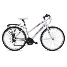 Torpado T831 Sportage Lady bianca - bici trekking donna 2019 | Mancini Store