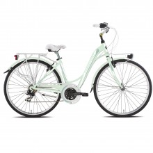 Torpado T441 Partner verde - city bike donna 2019 | Mancini Store